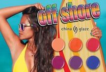 China Glaze - Off Shore / On Shelf - June 2014