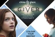 "China Glaze - The Giver / China Glaze® Debuts Limited Edition Collection for Summer Blockbuster Introducing 12 New Nail Shades Inspired by ""The Giver""  On Shelf August 2014"