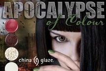 China Glaze - Apocalypse of Colour / China Glaze® All Aboard will be available in October 2014 at fine salons and beauty supply stores nationwide.