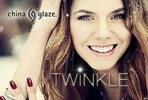 China Glaze - Twinkle / Make this holiday one to remember with the China Glaze® Twinkle collection, available  November 2014 at fine beauty supply stores and salons nationwide including Sally Beauty and Ulta.