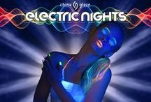 China Glaze - Electric Nights / Wave your nails in the air with China Glaze® Electric Nights April 2015 at fine beauty supply stores and salons nationwide including Ulta and Sally Beauty Supply.