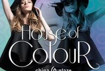 China Glaze - House Of Colour / Express your individuality with the China Glaze® House of Colour collection, available in February 2016
