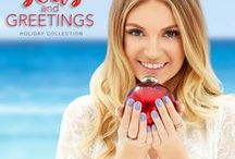 China Glaze - Seas and Greetings / 'Tis the sea-sun for holiday cheer! This year China Glaze® takes you on a tropical escape away from the traditional snowy winter climate and wishes you Seas and Greetings. Available November 2016 at Sally Beauty.