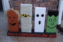 I love Halloween / I wish I could decorate for Halloween all year long it is so fun / by Shelley Christensen