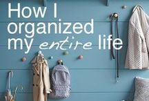 House: cleaning and organizing