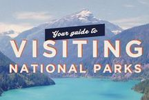 US & Canada National Parks / Beautiful photos of US and Canadian National Parks. Yellowstone, Great Smokey Mountains, Grand Canyon, Yosemite, Olympic, Grand Teton and many more.
