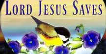 "♕ Lord Jesus Saves︵‿  † / ✞✟✞ Share the Good News! John 3:16 ""For God so ℓovєd thє ωorℓd, that Hє gavє His onℓy bєgotten Son, that ωhoєvєr bєℓiєvєs in Him shaℓℓ not pєrish, but havє єtєrnaℓ ℓiƒє. ♥ You may share Verses, Prayer Requests, Inspirations, & Videos. ☛PLEASE NO SOLICITING, NO NUDITY☚ Whatєvєr you do, do aℓℓ to the gℓory oƒ God.  1 Cor. 10:31~ Members of this community may invite friends to join by clicking the ""Edit Board"" below.  May <LORD JESUS>< Blєss Each of You! ♥ http://lordjesussaves.wordpress.com/"