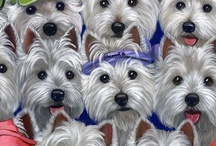Westies / by M.E. Trent