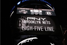 Brooklyn Nets - Barclays Center / PNY Technologies is proud to sponsor Brooklyn Nets basketball. Here's a collection of PNY signage from the Barclays Center.  / by PNY Technologies