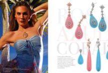 Azul Rosa Coral /