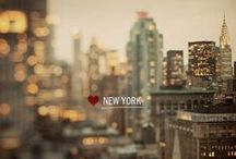 nyc / ~my favourite city (besides london)~ / by Martha Message