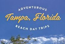 Florida // Travel & Vacation Guide & Ideas / Ideas for a great Florida travel vacation. Everything from family attractions, activities and things to do in Florida!