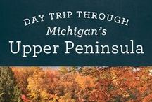 Michigan // Travel & Vacation Guide & Ideas / Explore the beaches, sand dunes and natural beauty in Michigan.