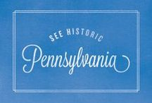 Pennsylvania // Travel & Vacation Guide & Ideas / Drive through the beautiful countryside of PA.