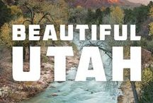 Utah // Travel & Vacation Guide & Ideas / Canyons, Zion National Park and Salt Lake City.