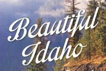 Idaho // Travel & Vacation Guide & Ideas / Explore the Gem State with all it's beautiful mountainous landscapes and more.
