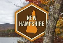 New Hampshire // Travel & Vacation Guide & Ideas
