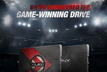 Solid State Drives (SSDs) / PNY SSDs offer the latest in flash-based technology, providing high performance, endurance and reliability. / by PNY Technologies ®
