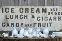 inspiration for kitchen sign / by Charity Jones