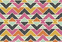 Prints and Patterns - Fabric Edition / All the fun fabric prints and patterns