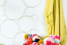Craft It - Diy ideas / Colorful, trendy, and modern DIY and craft ideas. Simple crafts with lots of gold.