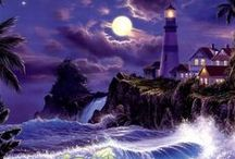 Lighthouses / Watching the Shoretline / by Jacqueline Owens