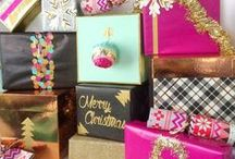 Wrap it - gift wrapping ideas / Colorful and funky gift wrapping