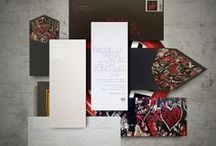 Invitations : Modern / Delightfully modern and contemporary wedding invitations by New York design studio Atelier Isabey.