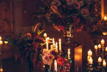 Italian Gothic Wedding / Dramatic, opulent and moody wedding images inspired by Gothic and Italian elements for couples planning their big day