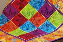 Paintstiks on Fabric / Great ideas for adding color, texture and images to fabric with Shiva Artist's Paintstiks
