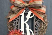 Wreath Ideas  / by Phyllis Hopper Coleman