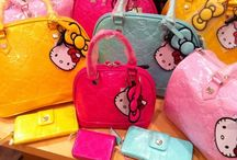 Hello Kitty Purses & Bags / Hello Kitty Bags, Purses, & Wallets!  / by Kristie Rene'