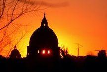 Sunset in Latium - Tramonti nel Lazio