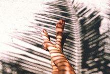 A summer swim