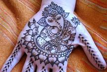 henna/mehndi / by Alyssa Landa
