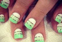 Nails, nails, nails.  / by Mandi Felan