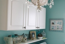 laundry room / by Amanda Niederhauser/Jedi Craft Girl