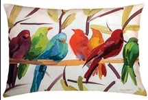 Bird Art & Decor / Beautiful bird motif art, home decor, and wearable art. CVisit us at www.retrofitstyle.com and our Etsy store at www.etsy.com/shop/RetrofitStyle.
