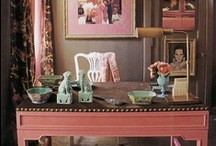 Pink Passion / Pink is a versatile color that I often use as a neutral in my home and art. Visit us at www.retrofitstyle.com and our Etsy store at www.etsy.com/shop/RetrofitStyle.