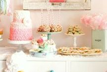 Events: Indoor Parties / Cakes, favors, and DIY decor for indoor parties.