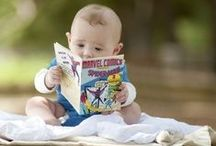 Little Ones + Books / The most precious gift you can give a child is the joy of reading....then you help her/him get a library card. / by Barbara Ford