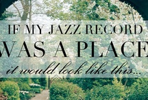 If My Record Was a {Place} it would look like this... / The Vision Board for my Debut Jazz Record