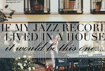 If My Record lived in a {Home} It would look like this... / The Vision Board for my Debut Jazz Record: