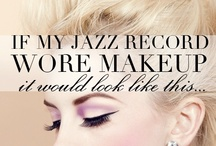 If My Record wore {Makeup} it would look like this... / The Vision Board for my debut Jazz Record: