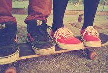 Skateboarding / by Mandi Felan