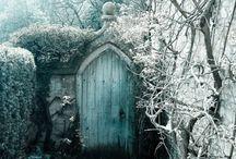 Fences, walls, steps, Veranda's, Sun porches, gates and pathways...