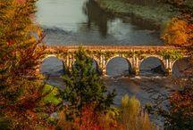 Bridges...covered, curved, crazy ...