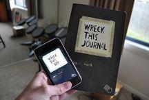 Wreck this Journal  / by Mandi Felan
