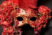 Masks, masquerades and costumes