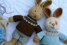 Bunnies and other stuffed animals